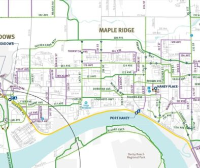 Maple Ridge bike map