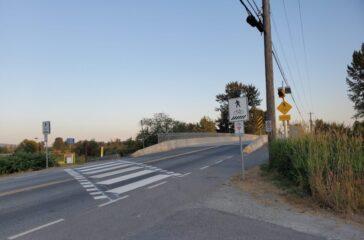 Neaves Rd crosswalks